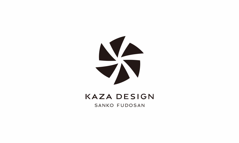 カザデザインロゴデザイン